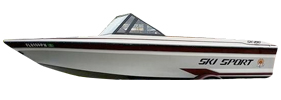 190 SK Sterndrive (All Years) Baja Boat Covers