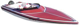 20 SS Outboard Baja Bimini Tops | Custom Sunbrella® Baja Covers | Cover World
