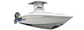 Sport Fish 250 Outboard Baja Bimini Tops | Custom Sunbrella® Baja Covers | Cover World