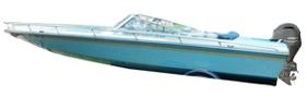 Sunsport 200 Outboard Baja Bimini Tops | Custom Sunbrella® Baja Covers | Cover World