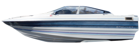 1400 Capri Bowrider Outboard Bayliner Boat Covers | Custom Sunbrella® Bayliner Covers | Cover World