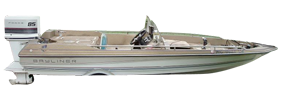 1410 Trophy Outboard Bayliner Boat Covers | Custom Sunbrella® Bayliner Covers | Cover World