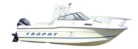 1510 Trophy F & S (All Years) Bayliner Boat Covers