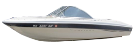 160 Runabout Outboard Bayliner Boat Covers | Custom Sunbrella® Bayliner Covers | Cover World