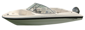 160 Outboard Bayliner Boat Covers | Custom Sunbrella® Bayliner Covers | Cover World