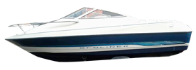 1702 Capri LS Outboard Bayliner Boat Covers | Custom Sunbrella® Bayliner Covers | Cover World