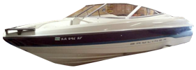 1704 Capri SF Outboard Bayliner Boat Covers | Custom Sunbrella® Bayliner Covers | Cover World