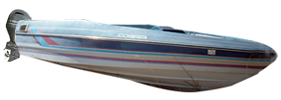 1704 Cobra Outboard Bayliner Boat Covers | Custom Sunbrella® Bayliner Covers | Cover World