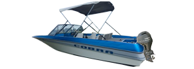 1709 Cobra Outboard Bayliner Boat Covers | Custom Sunbrella® Bayliner Covers | Cover World