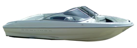 1800 Capri LS Outboard Bayliner Boat Covers | Custom Sunbrella® Bayliner Covers | Cover World