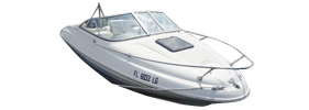 1802 Capri Lsv Outboard Bayliner Boat Covers | Custom Sunbrella® Bayliner Covers | Cover World