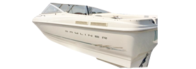 1804 Capri DX Outboard Bayliner Boat Covers | Custom Sunbrella® Bayliner Covers | Cover World