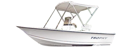 181 Trophy Bay Outboard Bayliner Boat Covers | Custom Sunbrella® Bayliner Covers | Cover World