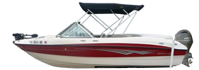 184 Runabout Outboard Bayliner Boat Covers | Custom Sunbrella® Bayliner Covers | Cover World