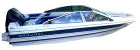 1900 Capri Bowrider Outboard Bayliner Boat Covers | Custom Sunbrella® Bayliner Covers | Cover World