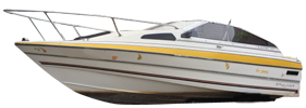 1900 Capri Cuddy Outboard Bayliner Boat Covers | Custom Sunbrella® Bayliner Covers | Cover World