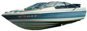 1900 CG Capri Bowrider Outboard Bayliner Boat Covers | Custom Sunbrella® Bayliner Covers | Cover World