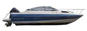 1902 Capri Cuddy Outboard Bayliner Boat Covers | Custom Sunbrella® Bayliner Covers | Cover World