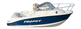 1902 Trophy Walkaround Outboard Bayliner Boat Covers | Custom Sunbrella® Bayliner Covers | Cover World