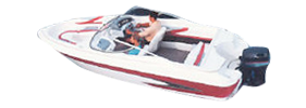 1904 Capri LC Outboard Bayliner Boat Covers | Custom Sunbrella® Bayliner Covers | Cover World