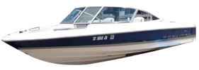 1904 Capri SF Outboard Bayliner Boat Covers | Custom Sunbrella® Bayliner Covers | Cover World