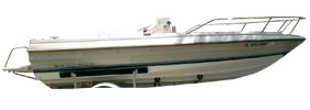 1910 Trophy Center Console Outboard Bayliner Boat Covers | Custom Sunbrella® Bayliner Covers | Cover World