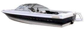 1950 Capri Bowrider Sterndrive Bayliner Boat Covers | Custom Sunbrella® Bayliner Covers | Cover World