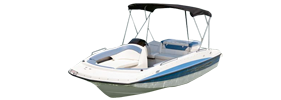 197 Deck Boat Outboard Bayliner Boat Covers | Custom Sunbrella® Bayliner Covers | Cover World