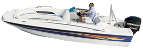 197 Outboard Deck Boat Bayliner Boat Covers | Custom Sunbrella® Bayliner Covers | Cover World