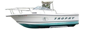 2000 Trophy Sport Outboard Bayliner Boat Covers | Custom Sunbrella® Bayliner Covers | Cover World