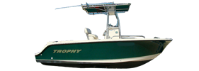 2003 Trophy Center Console Outboard Bayliner Boat Covers | Custom Sunbrella® Bayliner Covers | Cover World