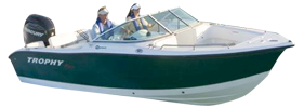 2006 Trophy Dual Console Outboard Bayliner Boat Covers | Custom Sunbrella® Bayliner Covers | Cover World