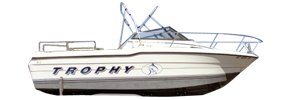 2059 Trophy Cuddy Bayliner Boat Covers | Custom Sunbrella® Bayliner Covers | Cover World