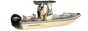2101 Trophy Bay Outboard Bayliner Boat Covers | Custom Sunbrella® Bayliner Covers | Cover World