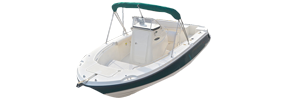 2103 Trophy Center Console Outboard Bayliner Boat Covers | Custom Sunbrella® Bayliner Covers | Cover World