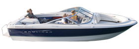 215 Classic Discovery BR Sterndrive Bayliner Boat Covers | Custom Sunbrella® Bayliner Covers | Cover World