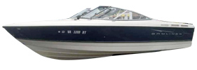 215 Discovery BR Sterndrive Bayliner Boat Covers | Custom Sunbrella® Bayliner Covers | Cover World