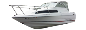 2252 Classic Cruiser Bayliner Boat Covers | Custom Sunbrella® Bayliner Covers | Cover World