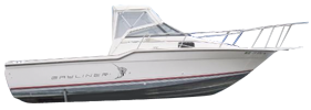 2302 Trophy Walkaround DX Bayliner Boat Covers