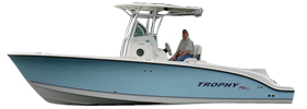 2503 Trophy Center Console Bayliner Boat Covers