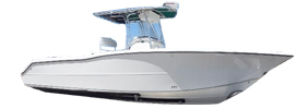 2803 Trophy Center Console Bayliner Boat Covers