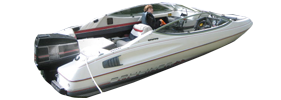 Capri 1800 Bowrider Outboard Bayliner Boat Covers | Custom Sunbrella® Bayliner Covers | Cover World