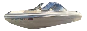 Capri 2000 Bowrider Outboard Bayliner Boat Covers | Custom Sunbrella® Bayliner Covers | Cover World