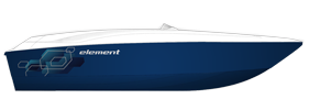 Element E16 Outboard Bayliner Boat Covers | Custom Sunbrella® Bayliner Covers | Cover World