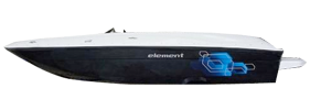 Element E18 Outboard Bayliner Boat Covers | Custom Sunbrella® Bayliner Covers | Cover World
