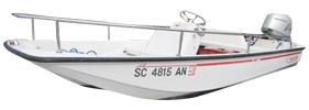 13 Sport GLS (THRU-1999) Boston Whaler Boat Covers | Custom Sunbrella® Boston Whaler Covers | Cover World