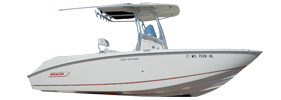 240 Outrage Boston Whaler Boat Covers