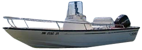 Sea Chaser 186 Roll Gunnel Carolina Skiff Boat Covers
