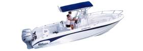 Sea Chaser 1900 CC Offshore Carolina Skiff Boat Covers