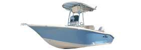 Sea Chaser 20 HFC Carolina Skiff Boat Covers